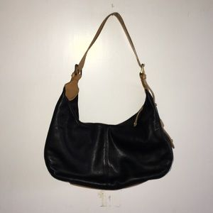 Franco Sarto Black Shoulder Bag